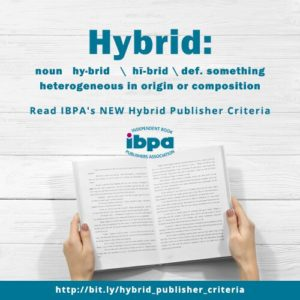 poster advertising hybrid publishing